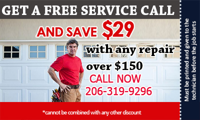 Garage Door Repair Bainbridge Island coupon - download now!